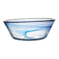 Mine Bowl, H25cm, blue