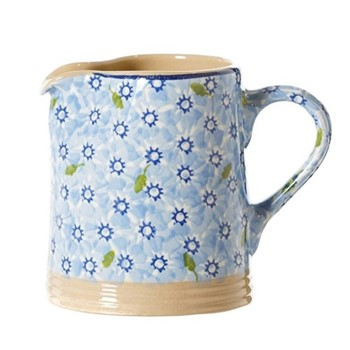 Lawn Small cylinder jug, H11cm, light blue