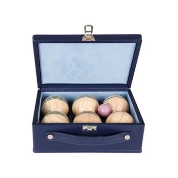 Chelsea Luxury indoor boules set, 22.5 x 8.5 x 22cm, sapphire