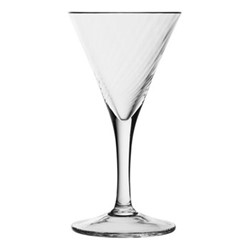 Atlantic Spiral tasting martini glass, 11cm - 40ml, clear