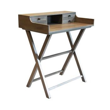 Campaign Desk, W75 x D46 x H83cm, grey