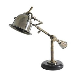Author's Desk lamp, H41 x W57.5 x L18cm, bronze/black