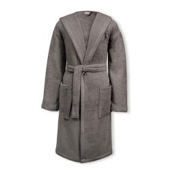 Player Bath robe, small/medium, pebble