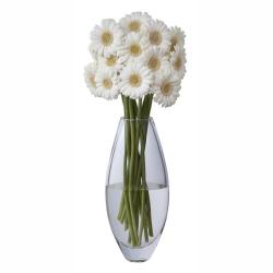 Opus Vase, H32.5cm, Clear