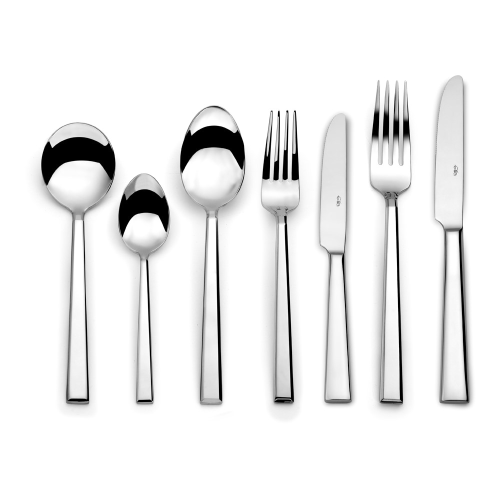 Cosmo 44 piece cutlery set, Mirror Finish Polished