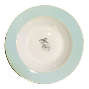 Harlequin - Blue Elephant Soup bowl, D22cm, blue