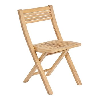 Roble Foldable garden furniture set, oak