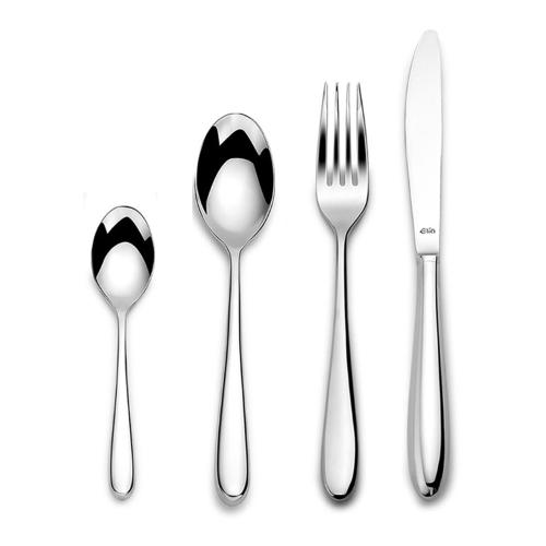 Siena 24 piece cutlery set, Mirror Finish Polished