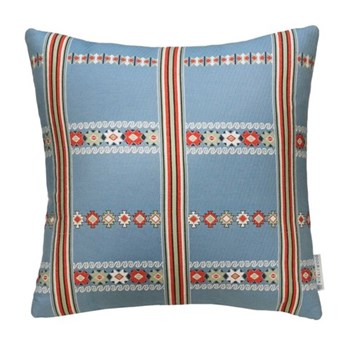 Lilly Cushion, 50 x 50cm, indigo