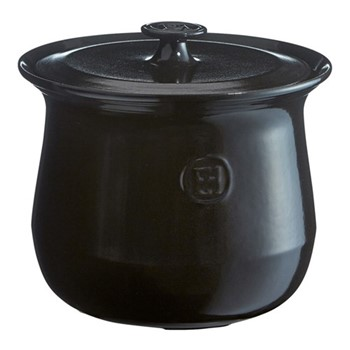 Stock-pot, 23 x 23 x 22cm -  4.0 Litre, charcoal