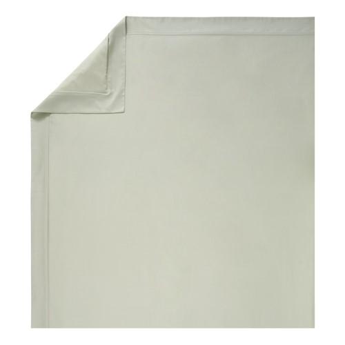 Triomphe - 300 Thread Count Cotton Sateen Double duvet cover, 200 x 200cm, Sauge
