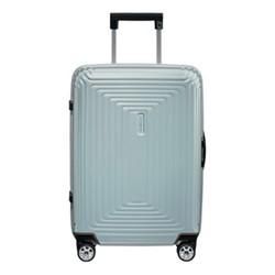 Neopulse Spinner suitcase, 55 x 40 x 23cm, metallic mint