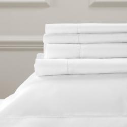 Pimlico - 720 Thread Count Egyptian Cotton King flat sheet, W275 x L275cm, White
