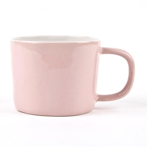 Set of 4 mugs, L8 x D11.5 x H6.5cm, Pale Pink