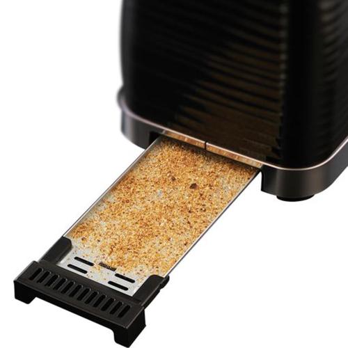 Inspire - 24370 Toaster, 2 slice, Black