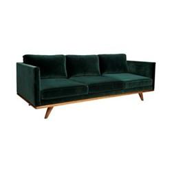 Westwood Sofa, W208 x H78 x D89cm, pine green