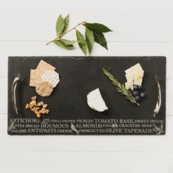 Engraved Medium antipasti serving tray, 35 x 25cm