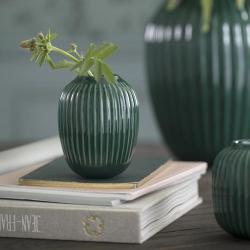 Hammershoi Vase, H10 x W10cm, Green