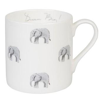 ZSL Elephant Mug, 275ml, multi