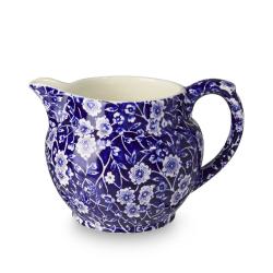 Calico Dutch jug small, 28.4cl - 1/2pt, Blue