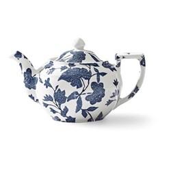 Burleigh - Garden Vine Teapot, 19 x 12 x 12cm - 800ml, indigo