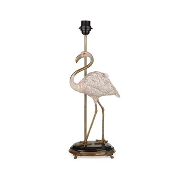 Flamingo Lampstand, H54 x W20 x D17cm, pink