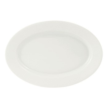 Seychelles Oval dish, 40 x 27.5cm, white