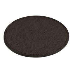 Tao Round coaster, 9.5cm, moka
