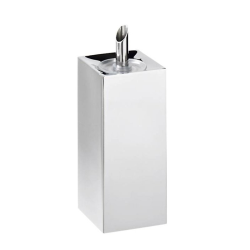Acciaio Oil pourer with stopper, stainless steel