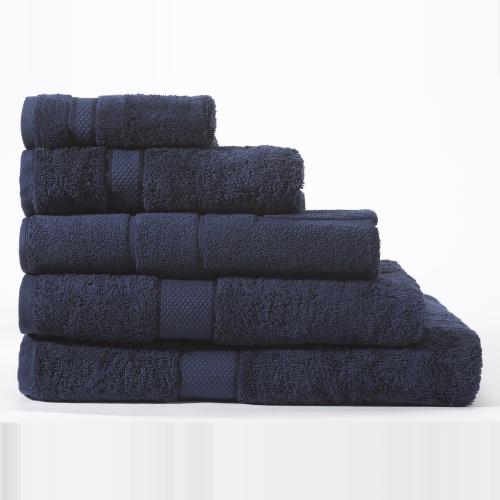 Egyptian Cotton Luxury Hand towel, 50 x 100cm, British Navy
