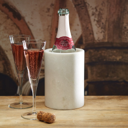 Wine cooler, 19 x 12cm, marble