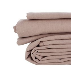 Double flat sheet, 230 x 270cm, champagne pink