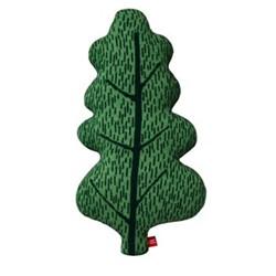 Leaf Cushion, L54cm, green