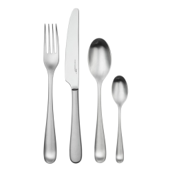 Mogano 24 piece cutlery set, Satin