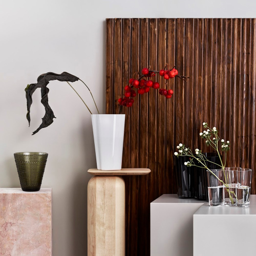 Alvar Aalto Vase, 25.1cm, white