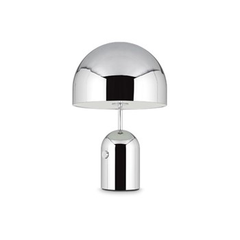 Bell Table light, H44 x L28 x W28cm, chrome