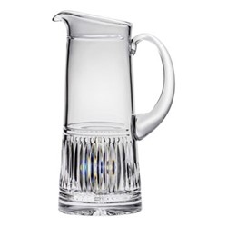 Art Deco Jug, 1.25 litre, clear