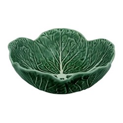 Cabbage Set of 4 bowls, 17.5 x 6cm, green