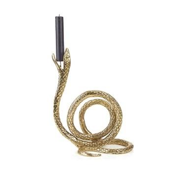 Serpentis Candelabra, H26 x W13 x D20cm, gold