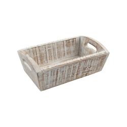 Nordic Deep tray, 28.7 x 18 x 10cm, White