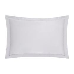 1000TC Cotton Sateen Oxford pillowcase, 50 x 75cm, Dove