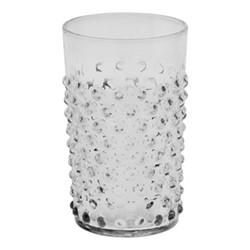 Bobble Glass tumbler, 20cl, clear