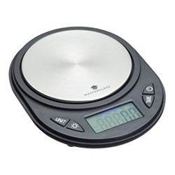 MasterClass Electronic compact scales, 10 x 13cm - 750g, black