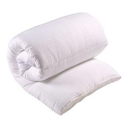 Luxury Microfibre - 10.5 Tog Super king size duvet, L260 x W220cm, white