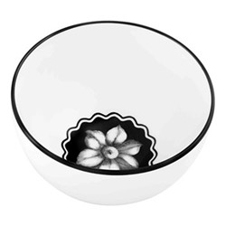 Herbariae Rice bowl, 11 x 6.5cm, white