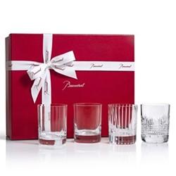 Elements Coffret Set of 4 cocktail glasses, H10.4 x D8cm, clear