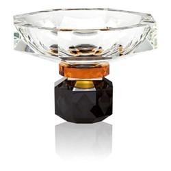 Arizona Bowl, L22 x H16.3 x D22cm, Clear/amber/black