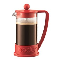 Brazil 3 cup coffee maker, 35cl, red
