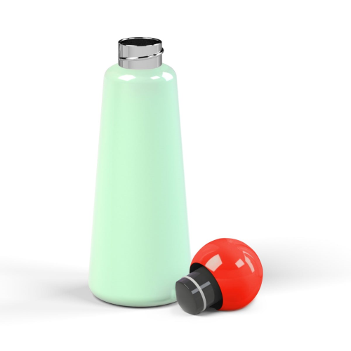 Skittle Water bottle, 500ml, Mint /Coral