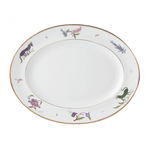 Mythical Creatures Oval platter, L35 x W28cm